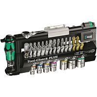 Wera 056490 - Tool-check plus Zyklop mini 39-osainen räikkäsarja