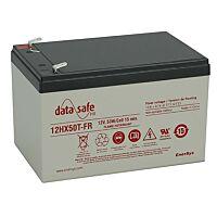 ENERSYS 12HX50FR DATASAFE SULJETTU LYIJYAKKU 12V 54W/KENNO 10 VUOTTA