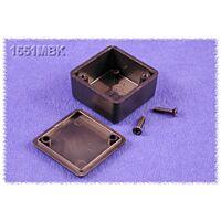 HAMMOND 1551MBK - ABS-Muovikotelo 35x35x20mm MUSTA IP54