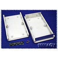 Hammond 1598AGY ABS-Muovi / Alumiini Asennuskotelo 154x94x36mm Harmaa