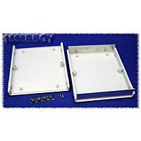 Hammond 1598BGY ABS-Muovi / Alumiini Asennuskotelo 134x135x50mm Harmaa