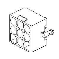 Molex 15-31-1026 - 2.36mm Uros piirilevyliitin 2 napainen
