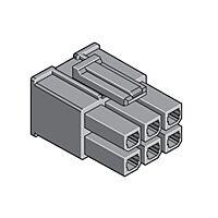 MOLEX 171692-0102 - MEGA-FIT RECEPTACLE HSG 2 CKT V-0