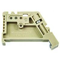 WEIDMULLER 425-314YE - Päätylukite DIN-35 kiskoon 10kpl/pk