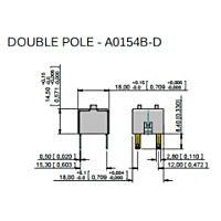 APEM A0154B-D - A01-SRJ.KYTKIN (A01ES-DM) 2-NAP.