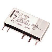 FUJITSU FTR-LYAA005V - Rele 5VDC 6A SPST Normally Open (NO) Juotospinneillä