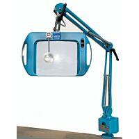 LICO 72400-3B-LED - SUURENNUSLASIVALAISIN  LED 3D 20x15cm ESD SININEN