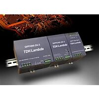 TDK-LAMBDA DPP120-24-3 - 340-575VAC/24VDC/5A/120W 3-VAIHE