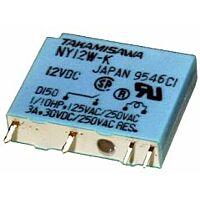 FUJITSU NY-12W-K - Rele Piirikortille 5A 12VDC (SPST-NO) - Non Latching