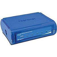 TRENDNET TE100-S5 - Ethernet Kytkin 5 Porttia 10/100 Mbps (RJ45) - Muovinen