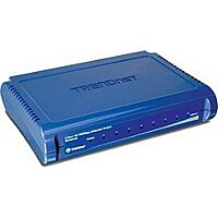 TRENDNET TE100-S8 - Ethernet-Kytkin 8 Porttia 10/100 Mbps (RJ45) - Muovinen
