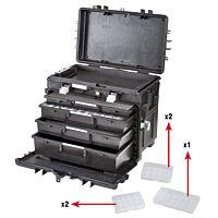 GTLINE GT AI1 KT01 - Työkalulaukku laatikosto, pyörät