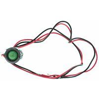 RS Pro  209046 - 12VDC LED vihreä 12mm reikään