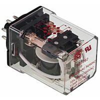 RS Pro  348762 - DPDT yleiskäyttörele 230VAC