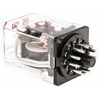 RS Pro  348813 - 3PDT yleiskäyttörele 230VAC