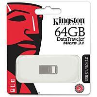 KINGSTON KING-64GB-MICRO - USB3.1 muistitikku 64Gb