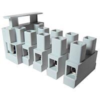 CAMDENBOSS CFTBN/5 - Fused terminal block 5-pin, 5x20mm