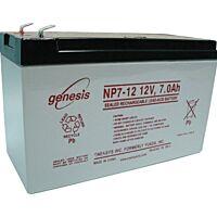 ENERSYS GENESIS NP7-12 SULJETTU LYIJYAKKU 12V 7AH 3-5 VUOTTA