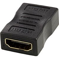 DELTACO HDMI-12-K - HDMI naaras / naaras adapteri