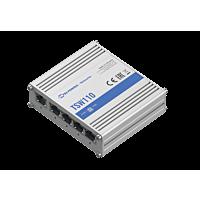 Teltonika TSW110 - Gigabit Ethernet-kytkin 5-porttinen Metalli Runkoinen